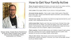 How to Get Your Family Active